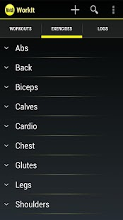 WorkIt - Gym Workout Tracker- screenshot thumbnail