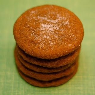 Soft Gingersnap Cookies.