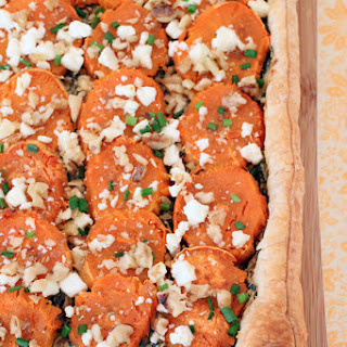 Sweet Potato Puff Pastry Galette.
