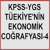 KPSS YGS COĞRAFYA TR EKO COĞ 4