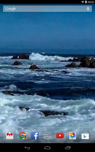 Download Ocean Waves Live Wallpaper 59 Google Play Softwares