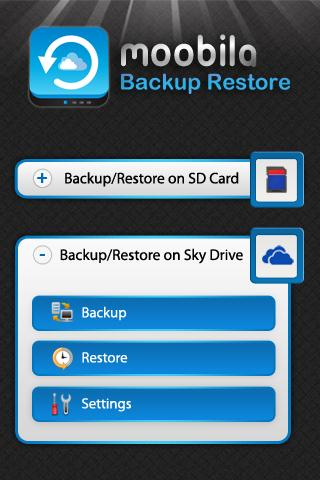 Backup Restore Pro - screenshot