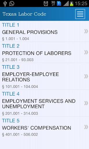Texas Labor Code