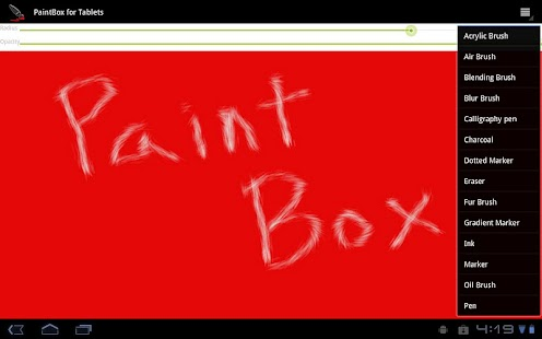 PaintBox For Tablets- screenshot thumbnail