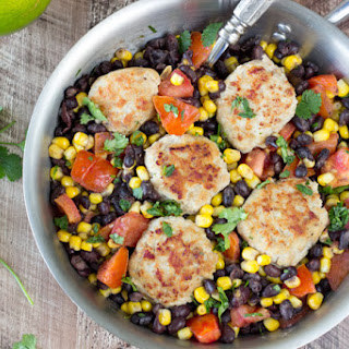 Skillet Southwest Turkey Meatballs