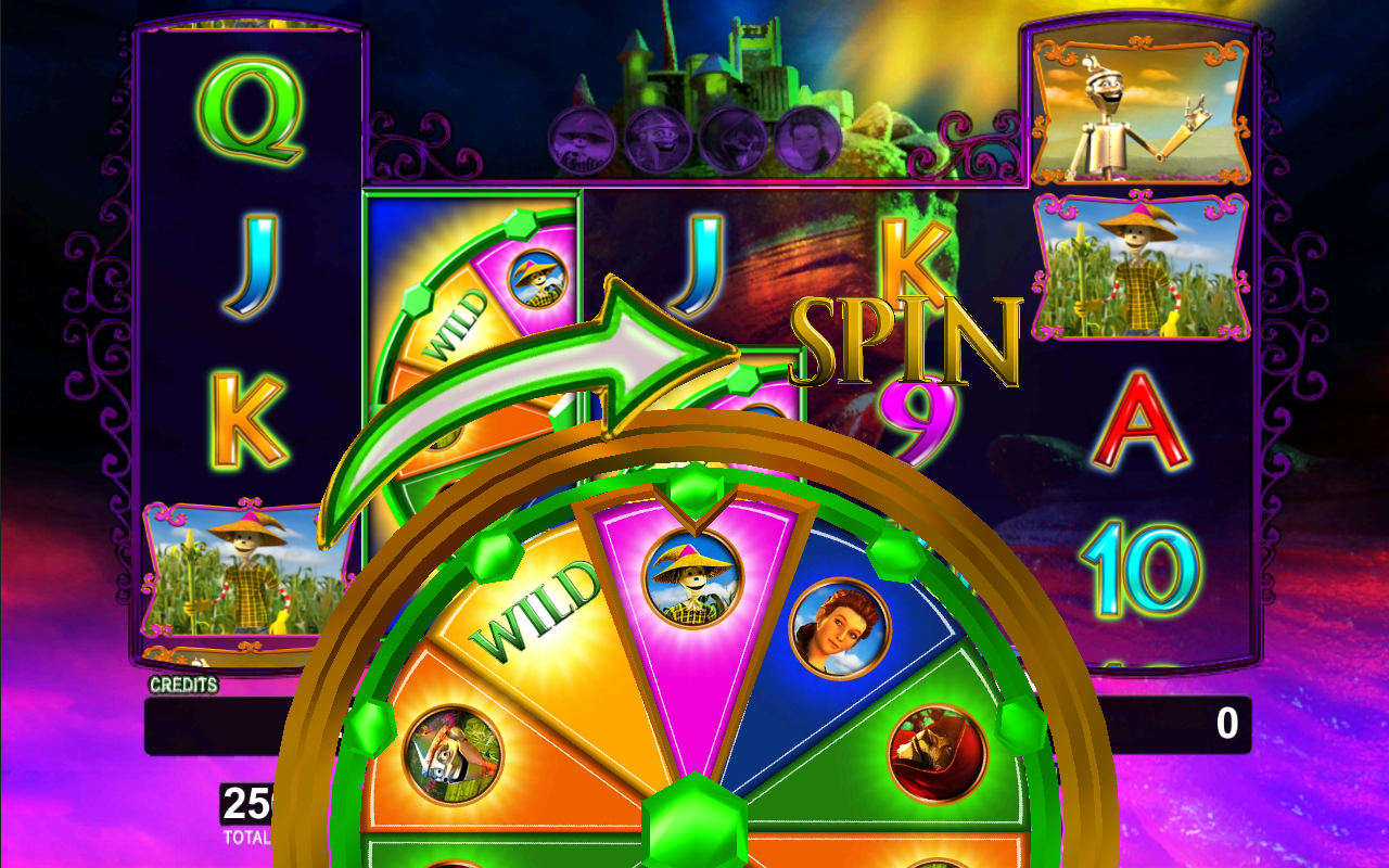 Wizard of oz casino slot game