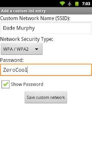 WiFi QR Share- screenshot thumbnail