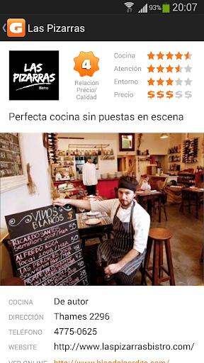Gordito: Restaurantes Bs.As.