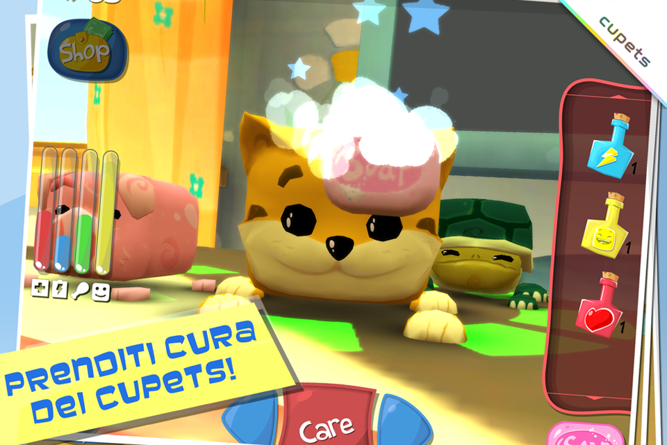 Cupets- screenshot