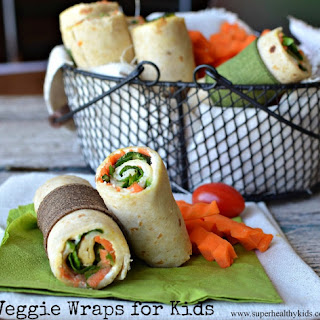 Veggie Lunch Wraps.