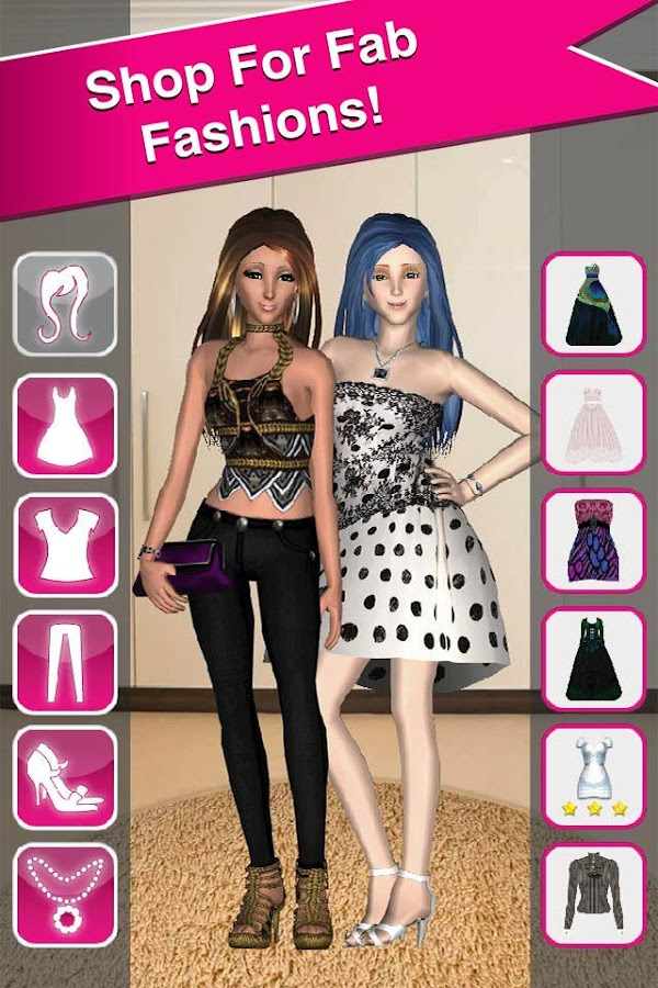 Style Me Girl Free 3d Dressup Android Apps On Google Play