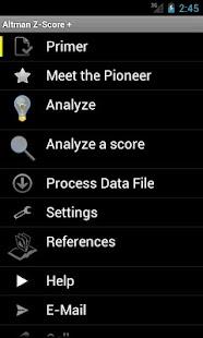 Altman Z-Score +- screenshot thumbnail