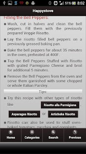 Happystove Recipes- screenshot thumbnail