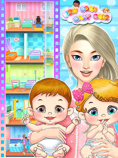 Newborn Baby Care 2-Girls Game