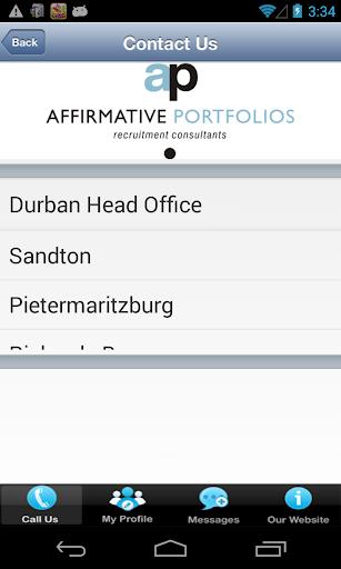 Affirmative Portfolios 1.2 screenshots 7