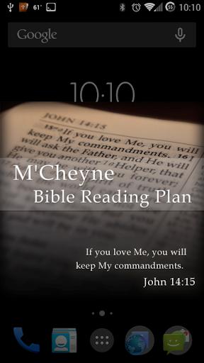 Bible Reading Plan - M'Cheyne