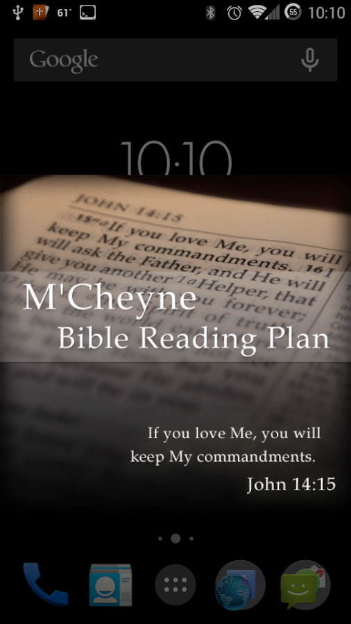 Bible Reading Plan - M'Cheyne- screenshot