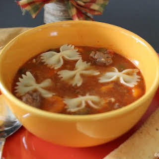 Crock-Pot Hamburger Soup II.