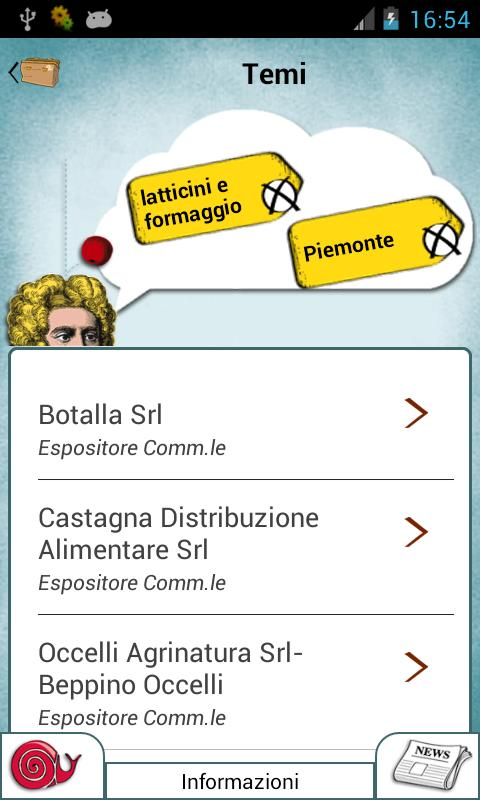 Salone del Gusto Terra Madre - screenshot