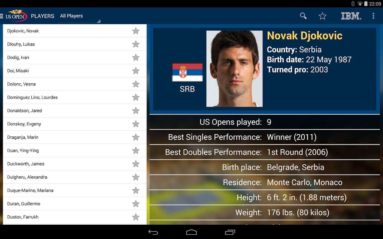 US Open Tennis Championships- screenshot