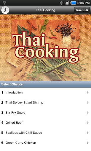 Thai Cooking - Video Cookbook