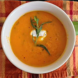 Carrot, Apple, And Tarragon Soup