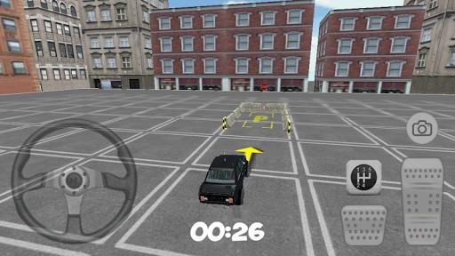 3D City Old Car Parking