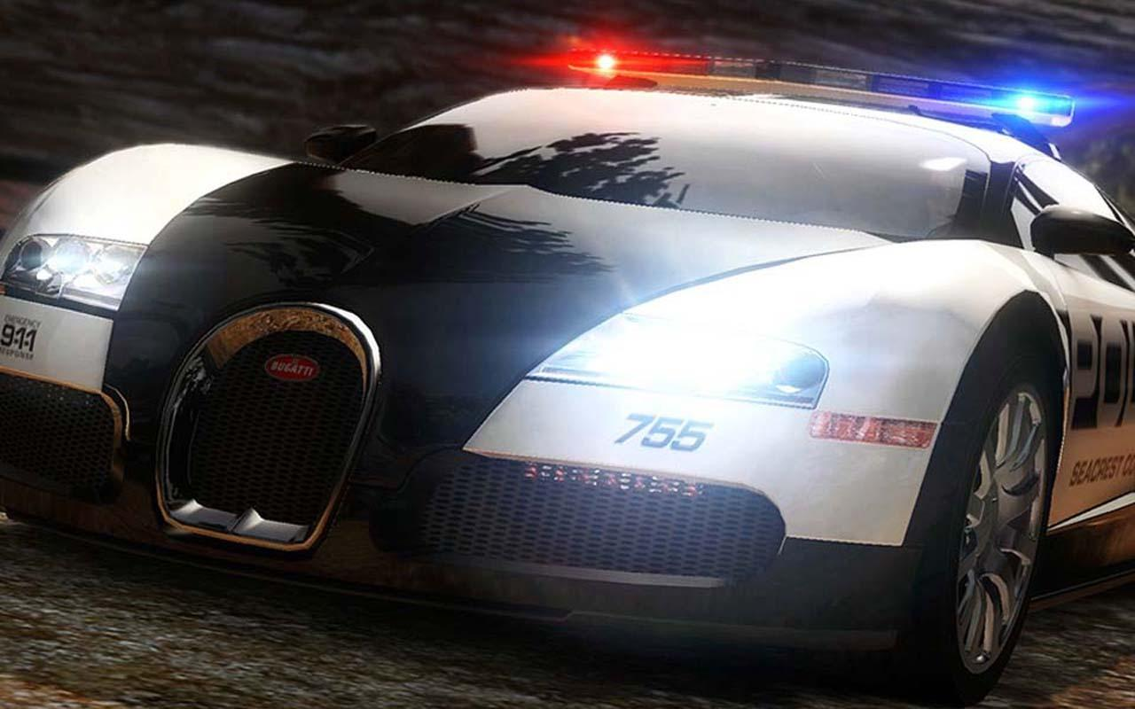 Police cars Hot Pursuit - screenshot