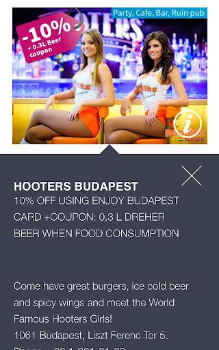 Enjoy Budapest Card