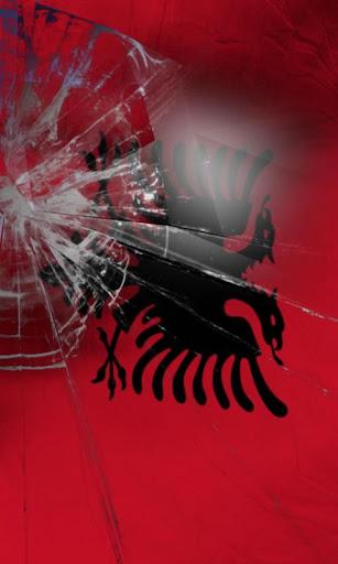 阿爾巴尼亞國旗活的壁紙