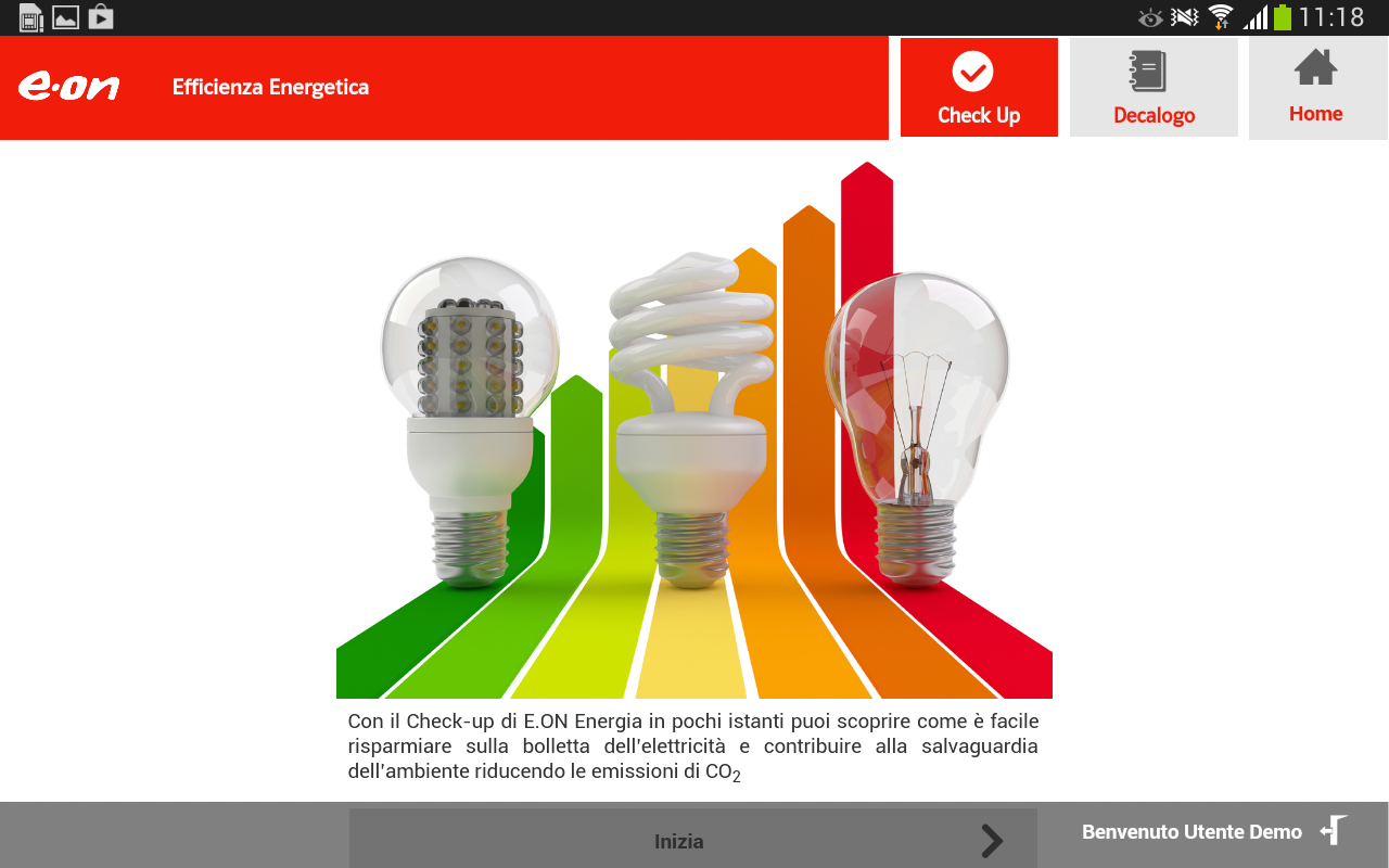 E.ON Energia Mobile - screenshot