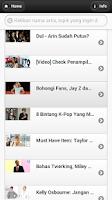 Screenshot of Berita Gosip Artis Indonesia