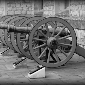 Tower of London Firepower by Michael Lunn - Artistic Objects Antiques ( tower of london, england, london,  )