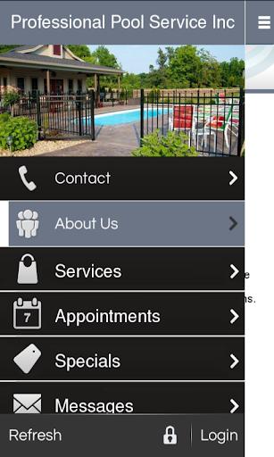 Professional Pool Service Inc