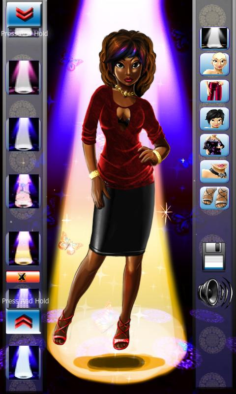 Stylish Kristy Dressup- screenshot