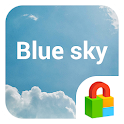 Blue Sky Dodol Locker Theme icon