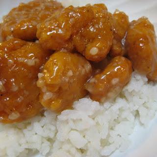 Chinese Honey Chicken Sauce.