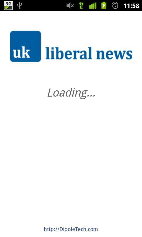 UK Liberal News - screenshot