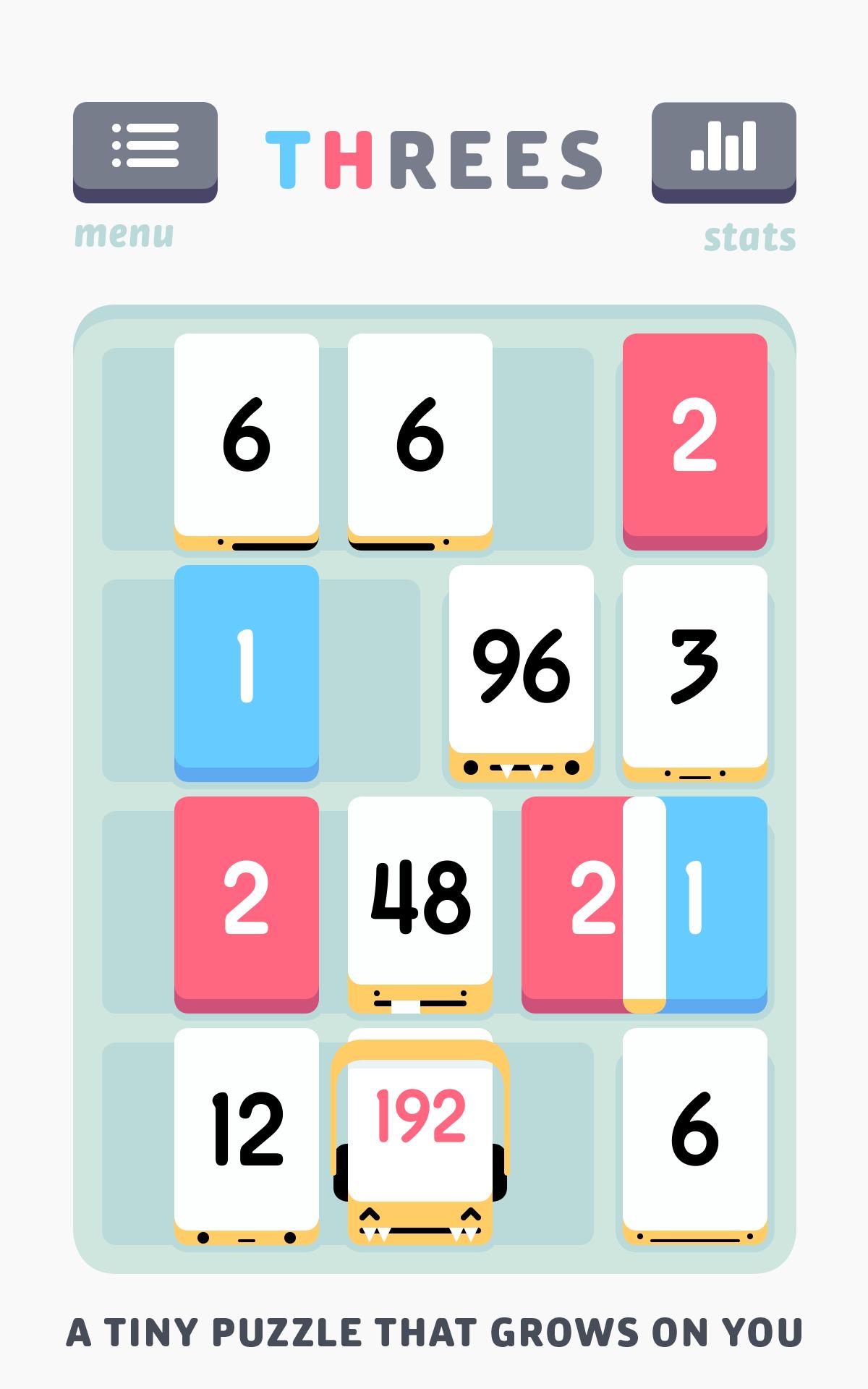 Threes! screenshot #11