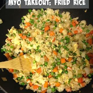 MYO Takeout Fried Rice.