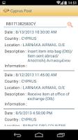 Screenshot of Cyprus Post