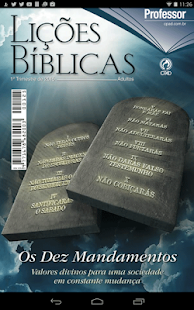 Lições Bíblicas Mestre -Adulto - náhled