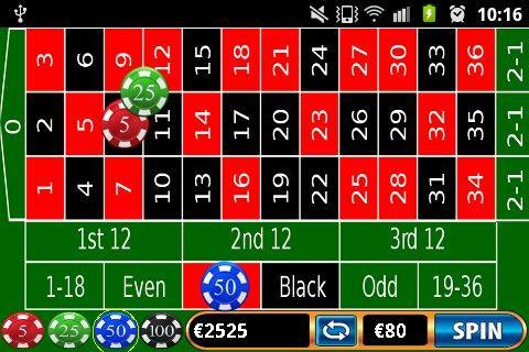 Las Vegas Roulette Online - screenshot