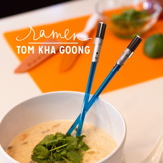 Make Coconut Shrimp Soup with Ramen.
