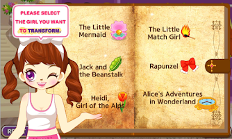Screenshot of Judy's FairyTale World2-Girls