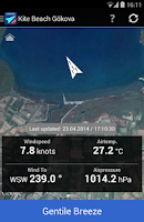 Screenshot of Gokova Wind Pro