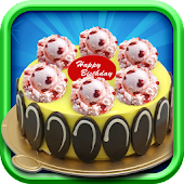 Ice Cream Cake-Cooking games