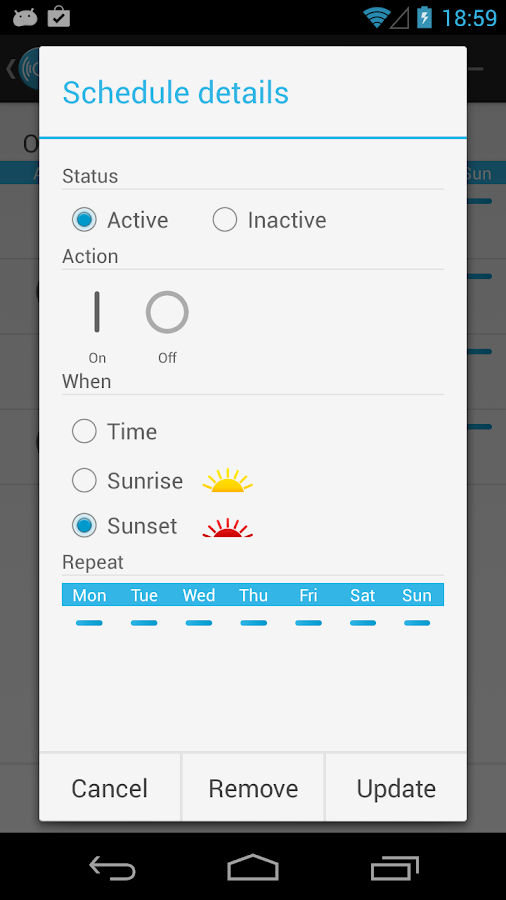 TelLIVE Remote Lite - screenshot