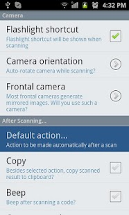 QR Droid Private™ - screenshot thumbnail