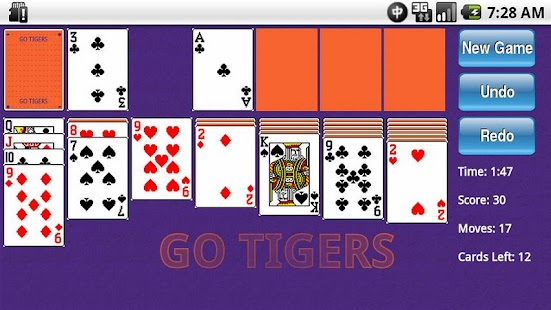 College Themed Solitaire - screenshot thumbnail